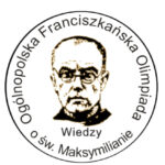 Sukcesy naszych uczniów w Ogólnopolskiej  Olimpiadzie Franciszkańskiej