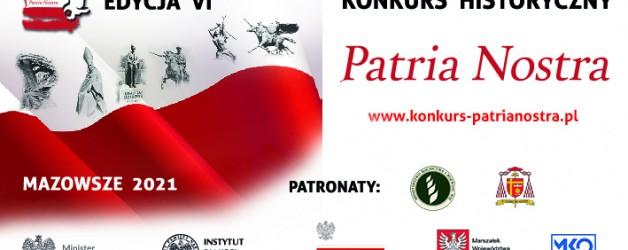 Filmowy konkurs historyczny Patria Nostra