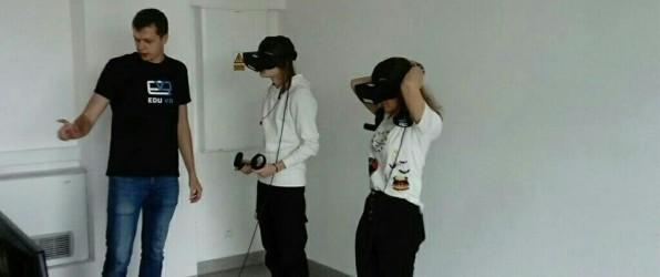 Nasi uczniowie w rzeczywistości wirtualnej!