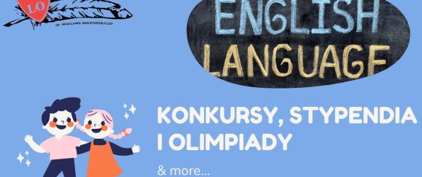 Język angielski: olimpiada i  konkursy – część 1.