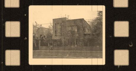 Pierwszy budynek I Liceum, przy ul. Granicznej