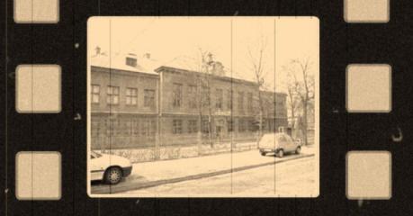 Czwarty (aktualny) budynek I Liceum, przy ul. Sasina 33